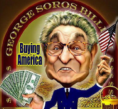 George Soros is Buying America