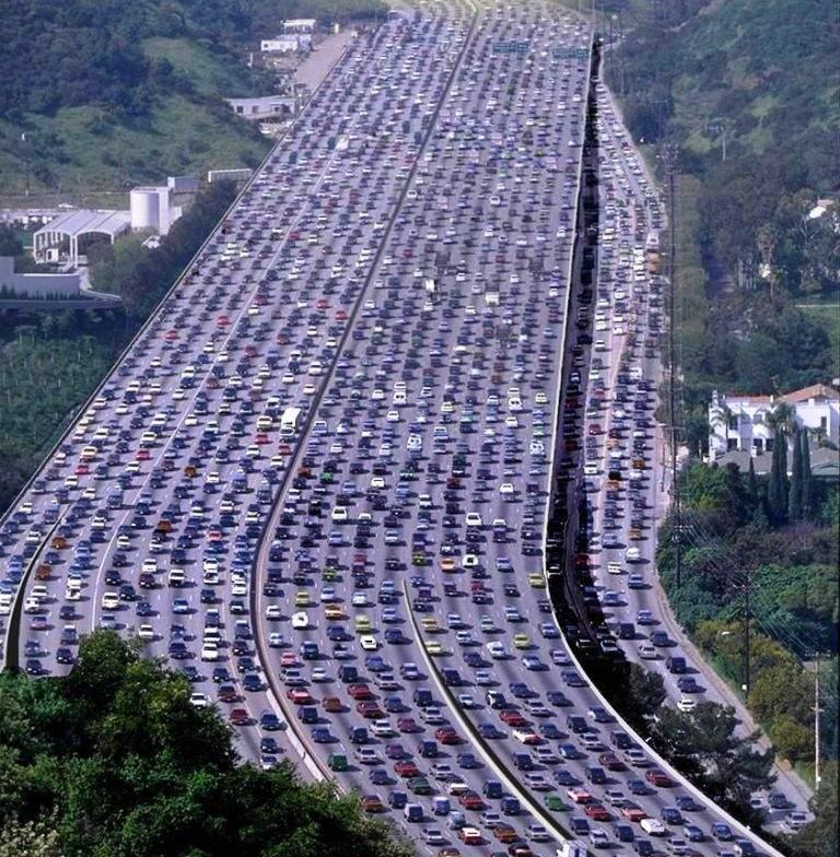 Dating los angeles traffic jam hours