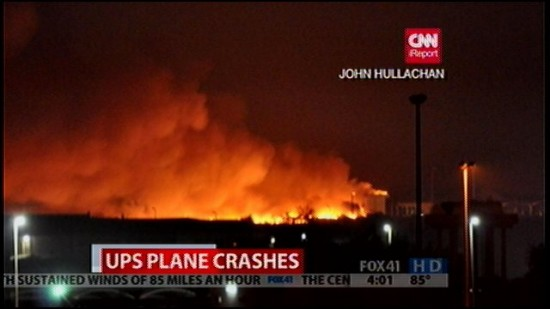 So What Happend Last Month In Ups Plane Crash In Dubai