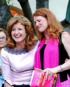 Huffington with Code Pink Founder