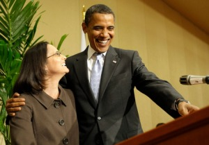 Lisa Madigan and Barry