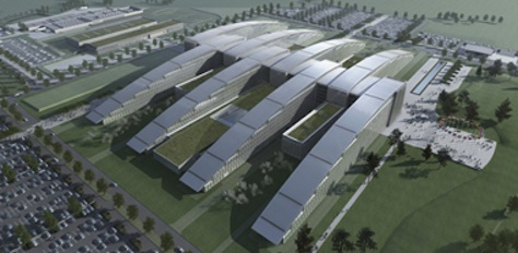 New $1.3 Billion headquarters just beginning construction