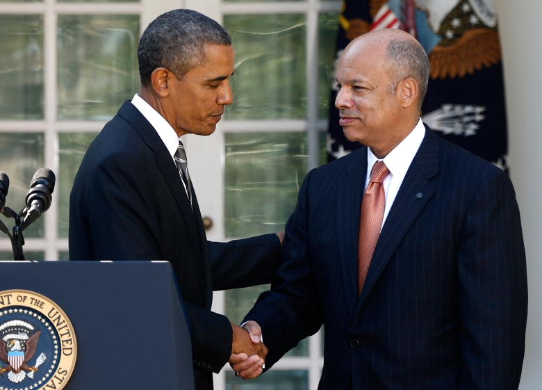 Image: Barack Obama, Jeh Johnson