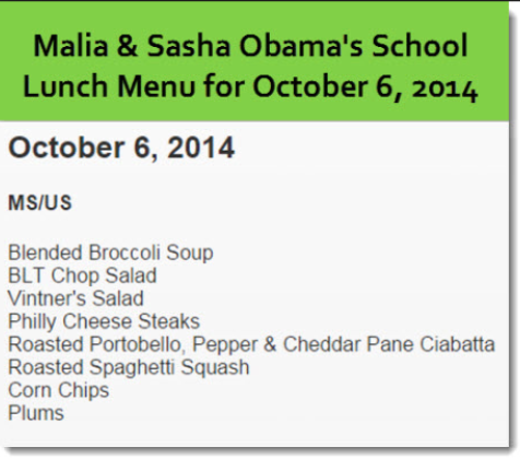 school lunch-PM