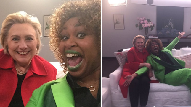 Glozell interviews Hillary Clinton